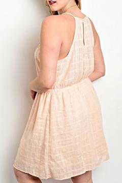 Shop The Trends  Peach Spring Dress - Alternate List Image