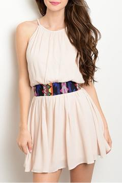 Shop The Trends  Tribal Waist Dress - Product List Image