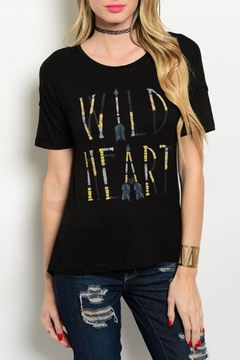 Shoptiques Product: Wild Heart Tee