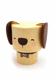 Shop Toast Dog Wood Box - Front cropped