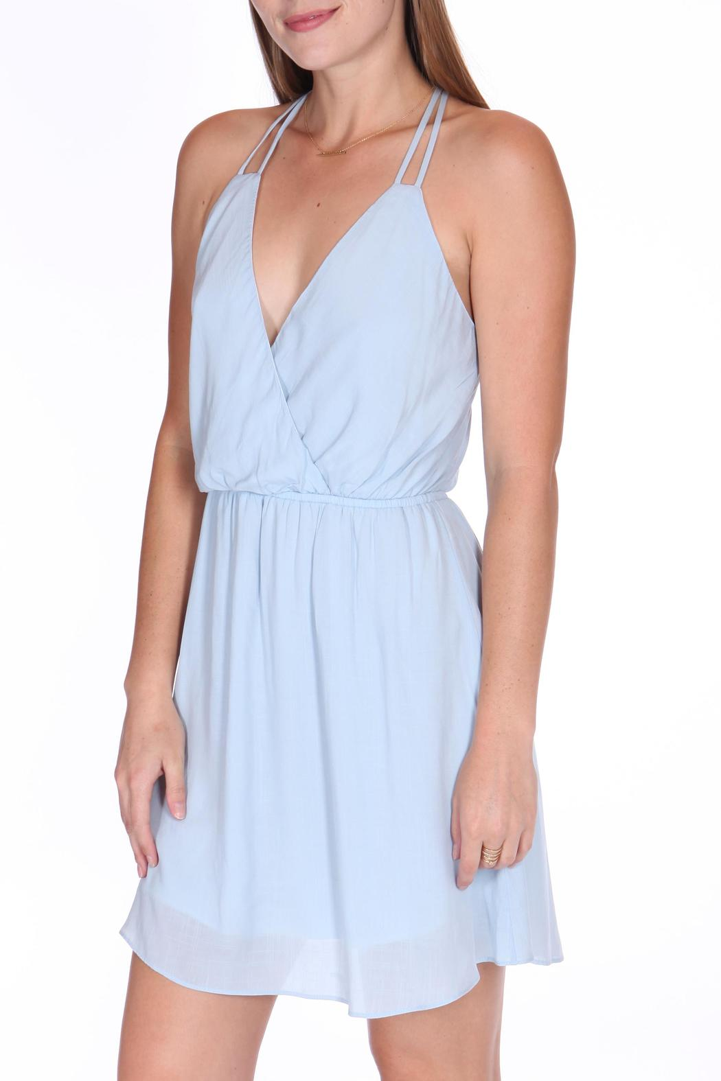 ShopGoldies Blue Skies Dress - Front Cropped Image