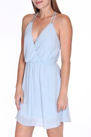 ShopGoldies Blue Skies Dress - Front cropped