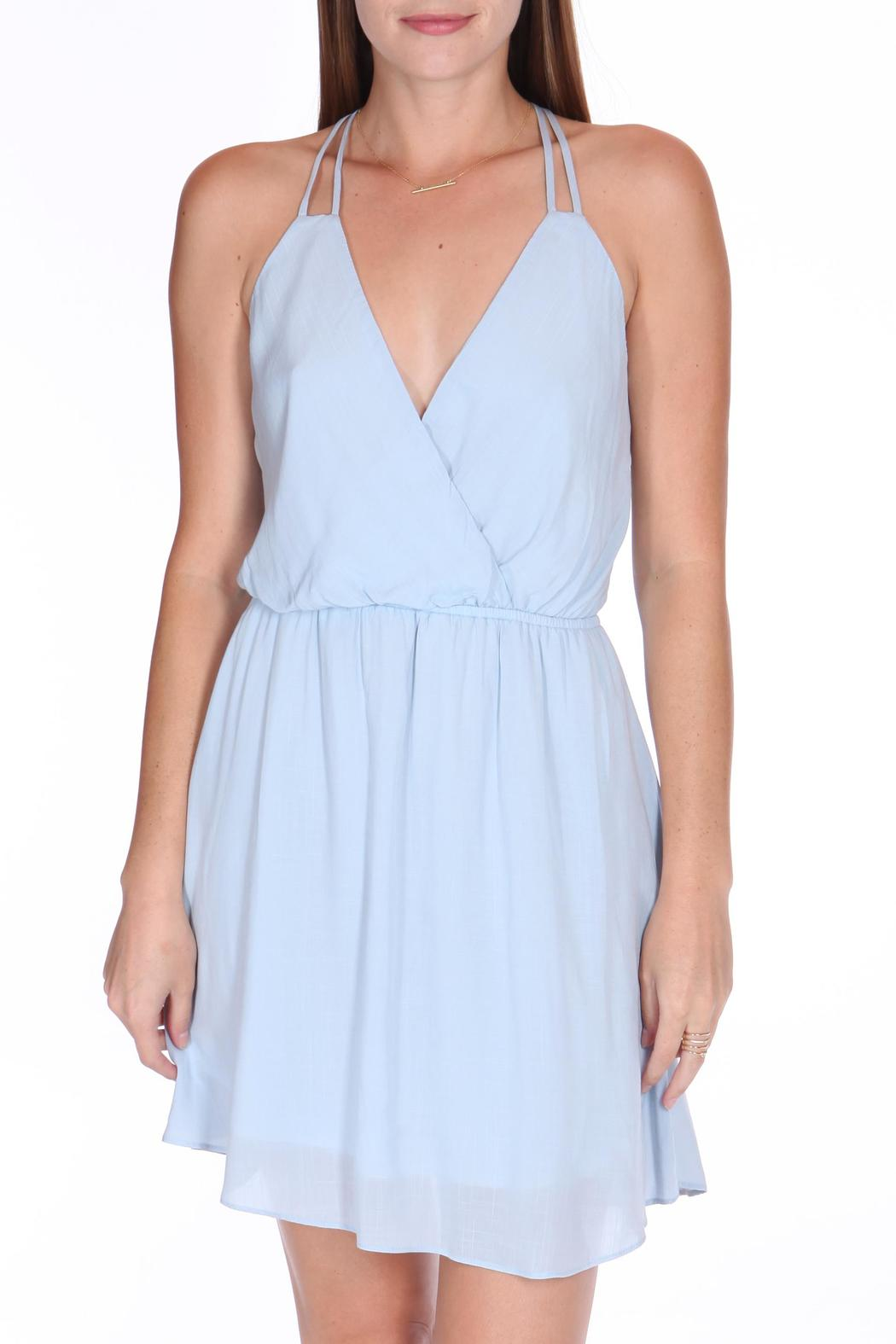 ShopGoldies Blue Skies Dress - Side Cropped Image