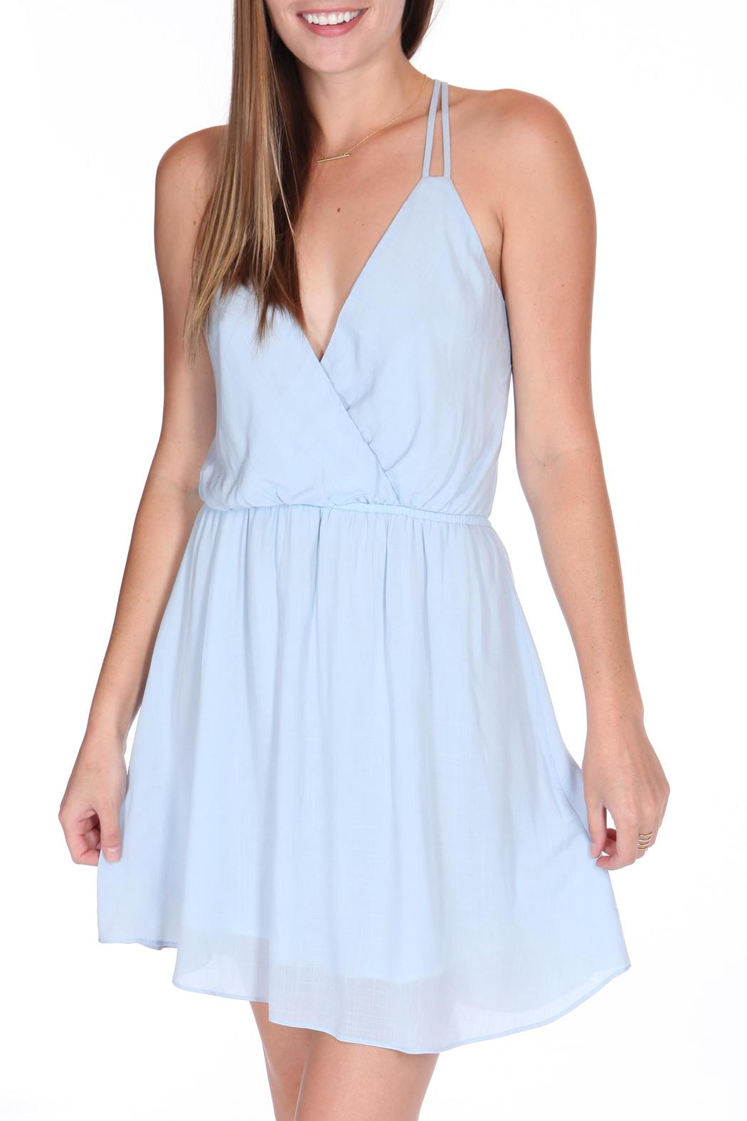 ShopGoldies Blue Skies Dress - Front Full Image