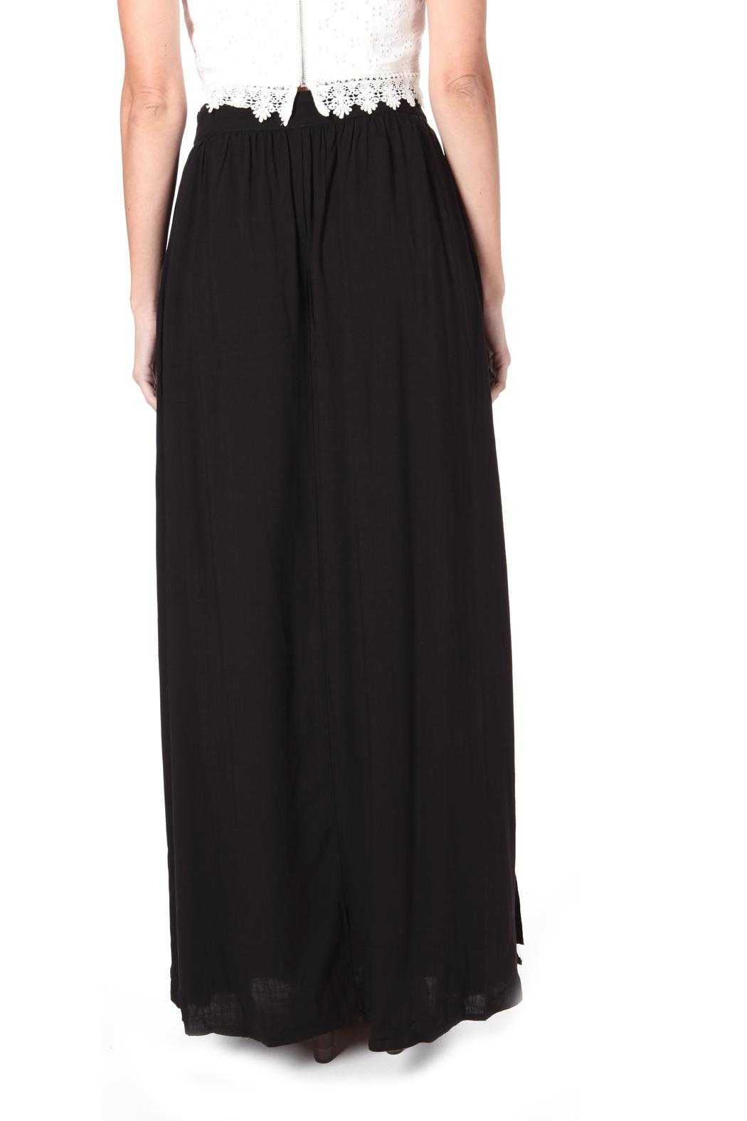 76bd8d34674 ShopGoldies Button Maxi-Skirt Black from Los Angeles by Goldie s ...