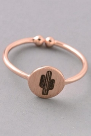 ShopGoldies Cactus Ring - Product Mini Image