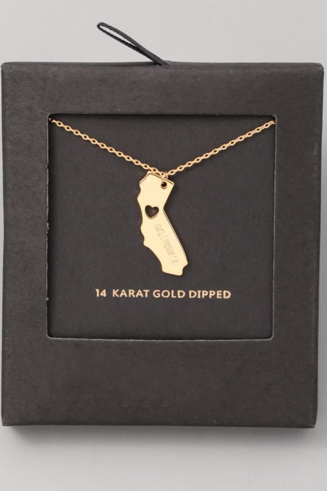 ShopGoldies California Heart Necklace - Main Image