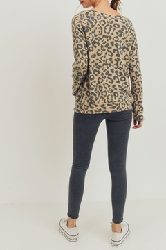 ShopGoldies Cashmere Leopard Pullover - Alternate List Image