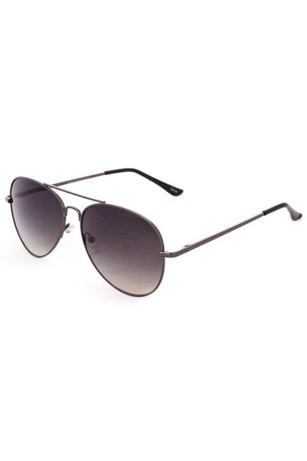 ShopGoldies Classic Aviator Sunglasses - Front Cropped Image