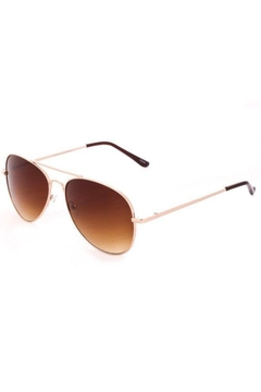 ShopGoldies Classic Aviator Sunglasses - Alternate List Image
