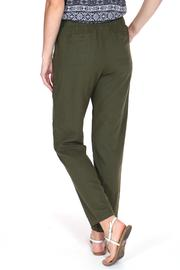 ShopGoldies Classic Linen Pant - Front full body