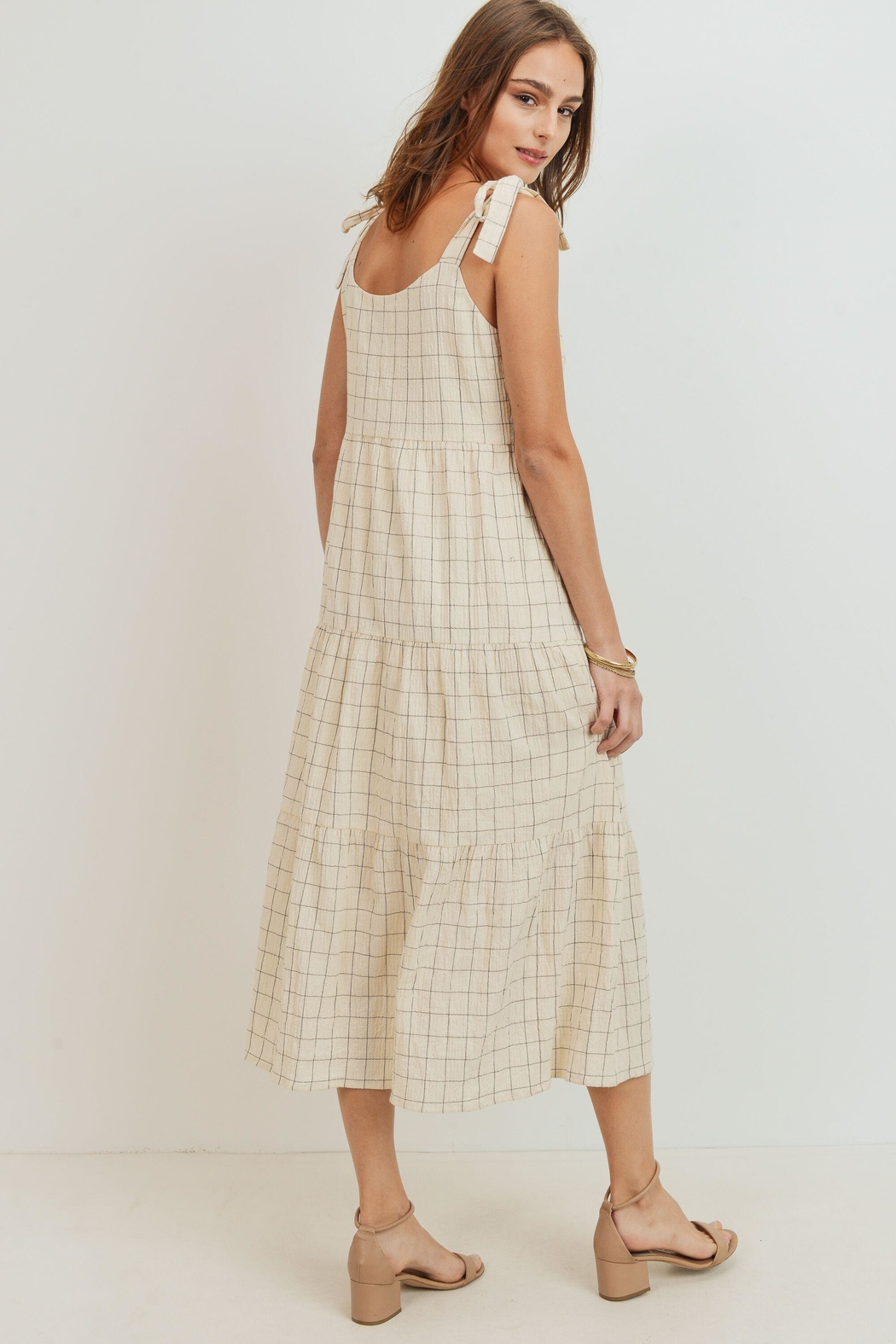 ShopGoldies Cotton Print Sundress - Side Cropped Image