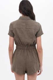 ShopGoldies Cotton Utility Romper - Back cropped