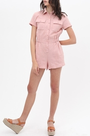 ShopGoldies Cotton Utility Romper - Front cropped