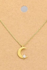 ShopGoldies Crescent Moon Necklace - Product Mini Image