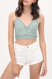 ShopGoldies Crochet Crop Top - Product Mini Image