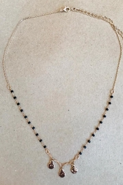ShopGoldies Dainty Hammered Necklace - Product Mini Image