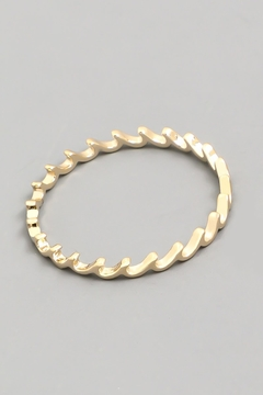 ShopGoldies Dainty Wave Ring - Alternate List Image