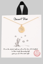 ShopGoldies Desert Star Necklace - Product Mini Image