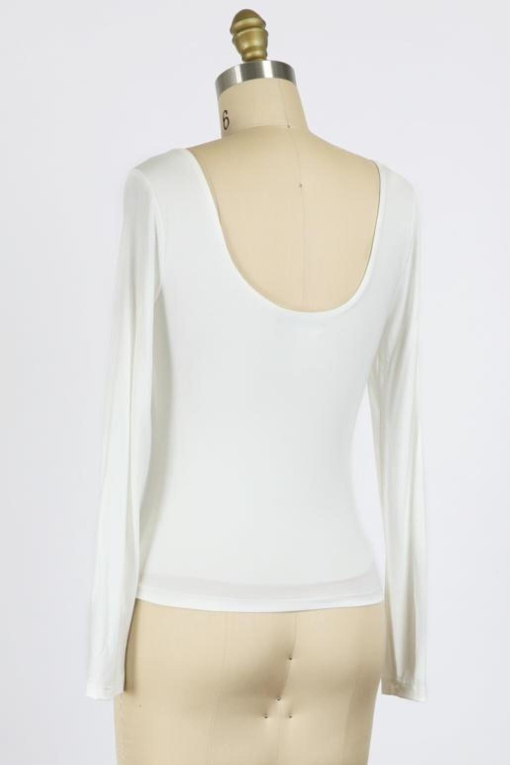 ShopGoldies Double-Layer Long Sleeve - Front Full Image