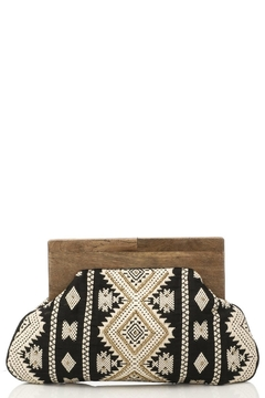 Shoptiques Product: Eclectic Embroidery Clutch