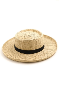 ShopGoldies Editorial Straw Hat - Alternate List Image
