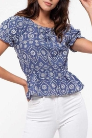 ShopGoldies Embroidery Detailing Blouse - Product Mini Image