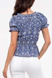 ShopGoldies Embroidery Detailing Blouse - Front full body