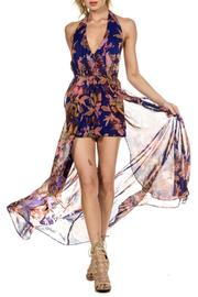 ShopGoldies Floral-Glam Maxi Romper - Back cropped