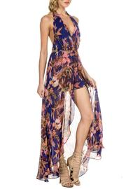 ShopGoldies Floral-Glam Maxi Romper - Other
