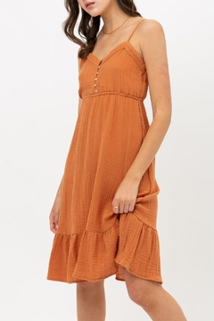ShopGoldies Gauze Ruffle Sundress - Product List Image