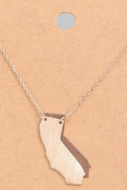 ShopGoldies Golden State Necklace - Front cropped