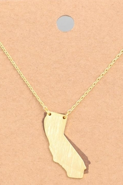 ShopGoldies Golden State Necklace - Alternate List Image