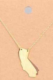 ShopGoldies Golden State Necklace - Product Mini Image