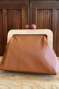 Shoptiques Product: Hepburn Wooden Purse