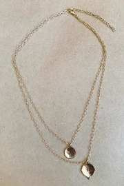 ShopGoldies Layered Circle Necklace - Product Mini Image