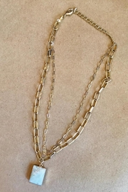 ShopGoldies Natural Stone Necklace - Product Mini Image