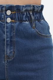 ShopGoldies Paper Bag Jeans - Front full body