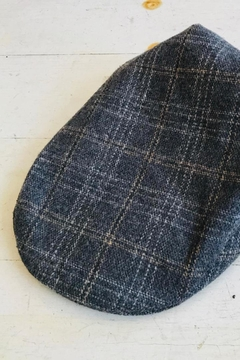 ShopGoldies Plaid Newsboy Hat - Product List Image