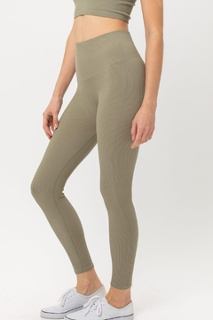 ShopGoldies Ribbed Legging - Product List Image