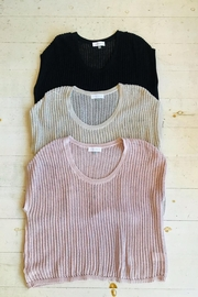 ShopGoldies Short-Sleeve Sweater Top - Front cropped
