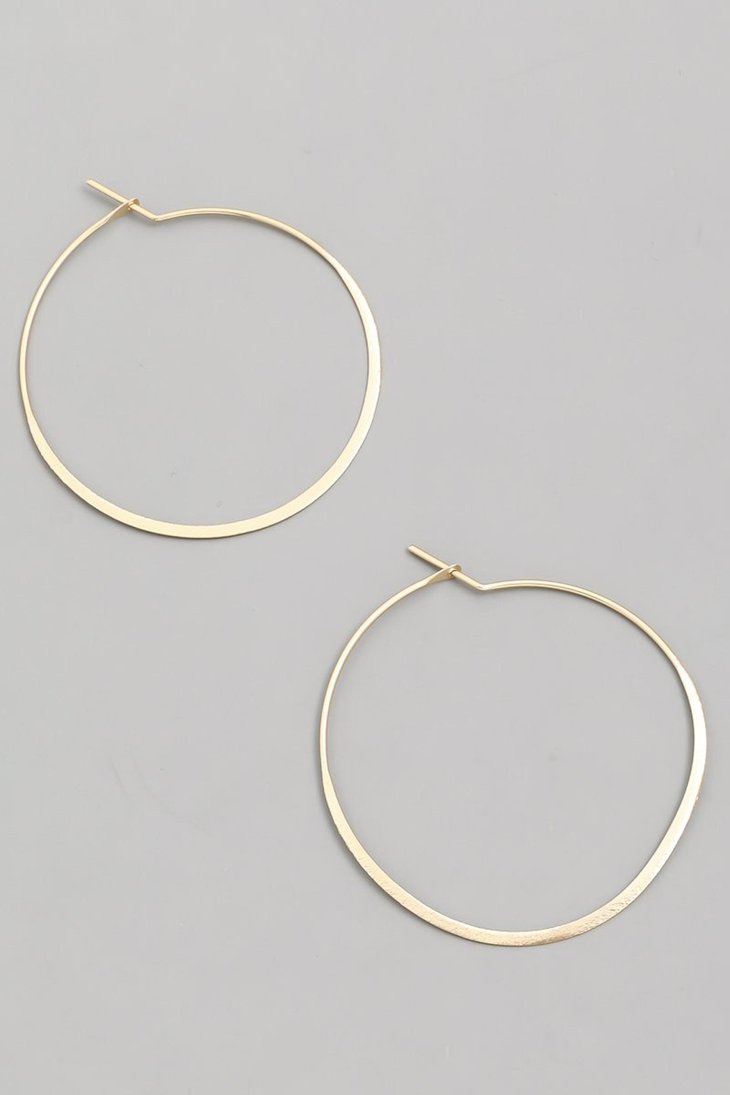 ShopGoldies Simply Perfect Hoop - Front Cropped Image
