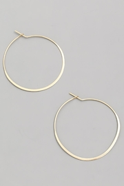 ShopGoldies Simply Perfect Hoop - Front cropped