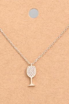 ShopGoldies Sparkling Wine Necklace - Product List Image