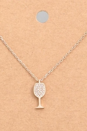 ShopGoldies Sparkling Wine Necklace - Front cropped