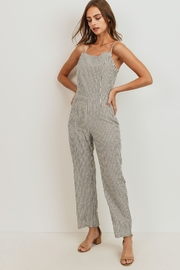 ShopGoldies Striped Jumpsuit - Front cropped
