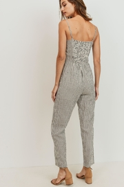 ShopGoldies Striped Jumpsuit - Front full body