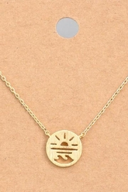ShopGoldies Surf Gold Necklace - Product Mini Image