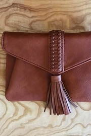 ShopGoldies Tassel Clutch Bag - Front cropped