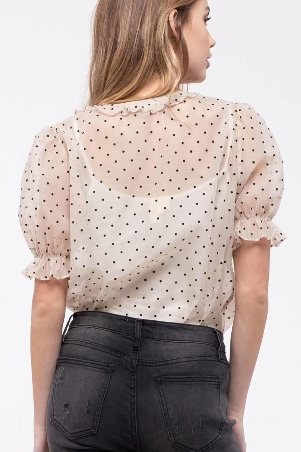 ShopGoldies Vintage-Inspired Button Down - Front Full Image